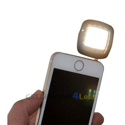 16 LED Flash Fill Portable Mini Selfie Light For Samsung HTC Sony LG iPhone