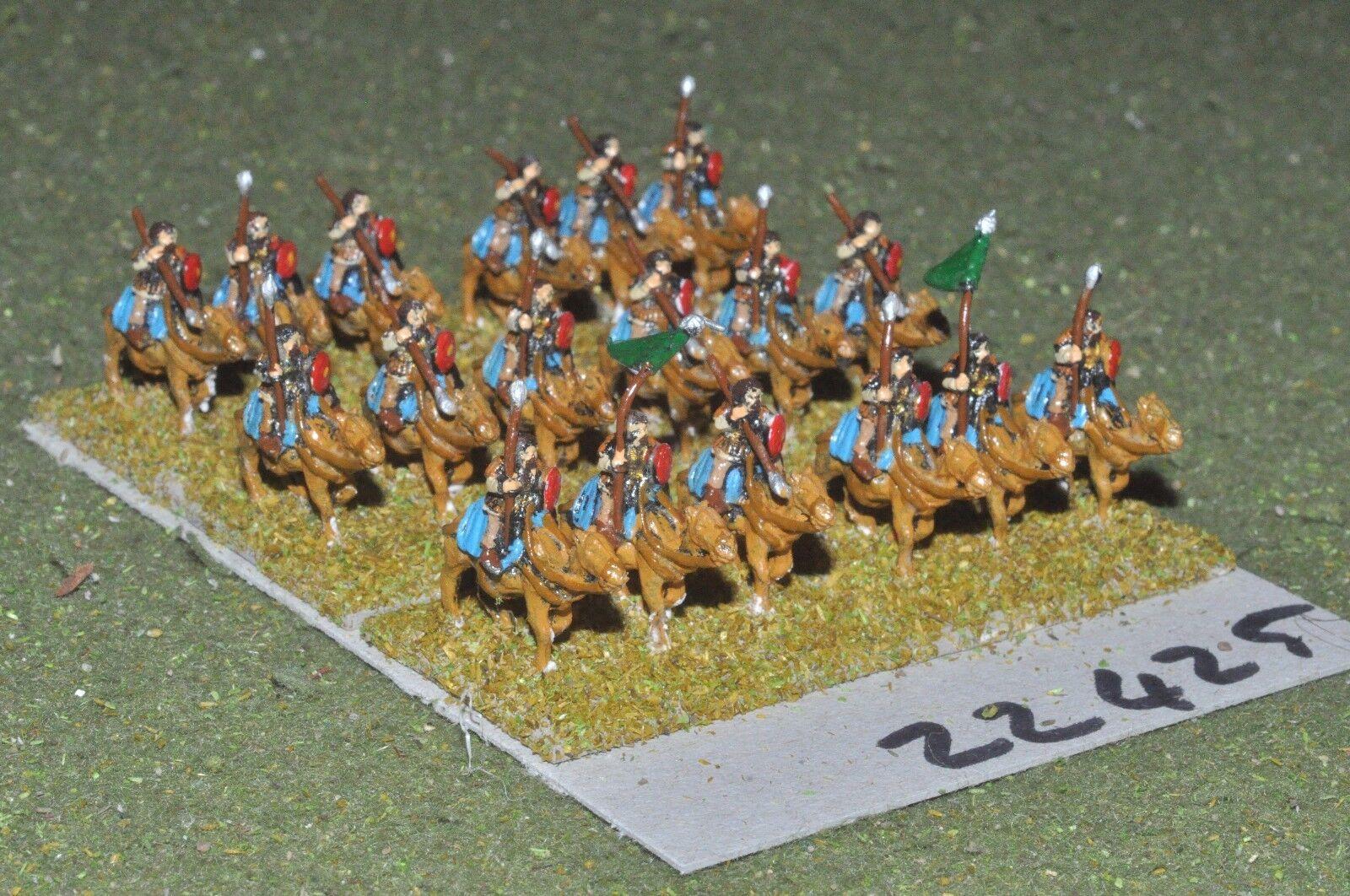 10mm Roman era   roman - heavy 18 figs - camels (22425)