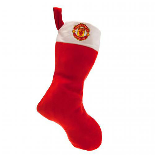 Manchester United F.C Supersoft Christmas Stocking