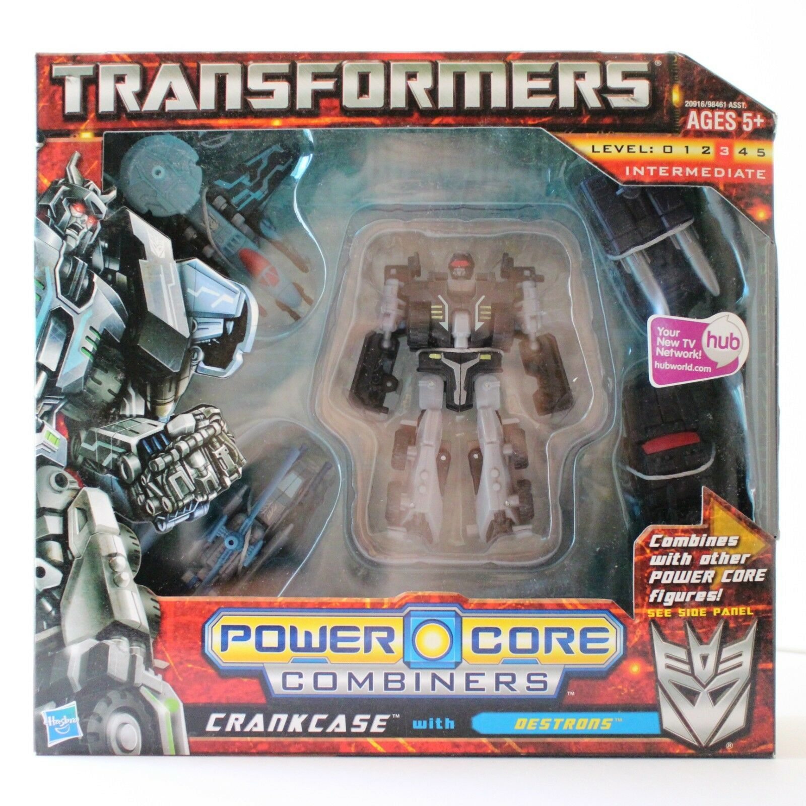 Nuevo Transformers Power Core Combiners. Kit Pcc Cárter con