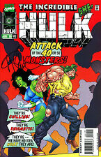 THE INCREDIBLE HULK #442 SHE-HULK SIGNED BY ARTIST ANGEL MEDINA