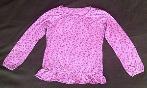 Girls-purple-long-sleeve-t-shirt-100-cotton-VGC-age-11-12-yrs