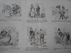 Vignette-Caricature-1887-Fatigue-de-marche-Le-Noble-Persan-sur-les-mains