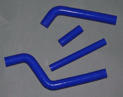 Radiator silicone hose For Yamaha YZ125 YZ 125 98 99 00 1996-2001 BLACK WHITE