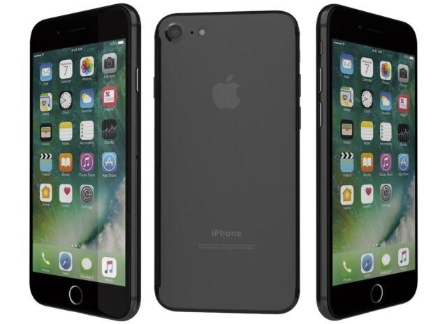 New Overstock Apple iPhone 7 - 32GB  Jet Black for Verizon
