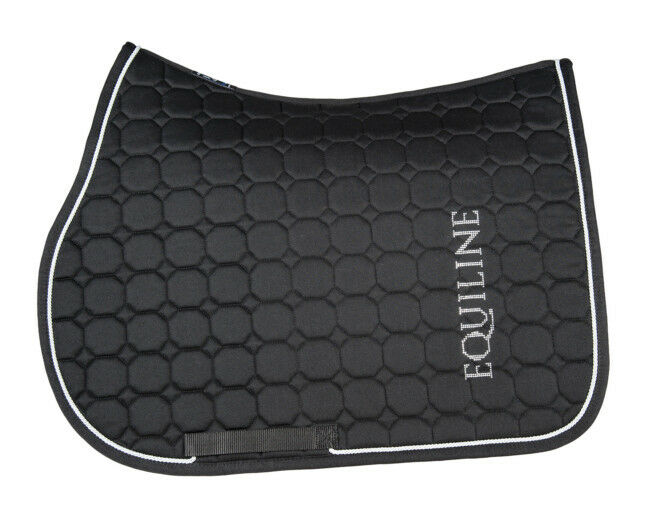 Equiline Saddle Pad South Brown Octagon  Congreenible  high quaity