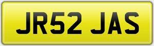 JR52-JAS-CAR-REG-NUMBER-PLATE-FEES-PAID-JASE-JAY-JAMAL-JAMIE-JAMES-JR-JJ-JASON