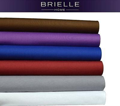 Brielle Easy Care Microfiber Jersey Knit (T-Shirt) Sheet Set NEW