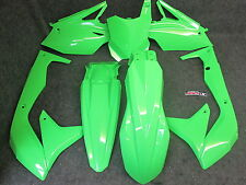 Kawasaki KXF450 2016-2017 X-Fun complete green full plastic kit PK3013