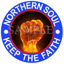 Larger sizes KTF printed self-adhesive car window sticker Northern Soul #2