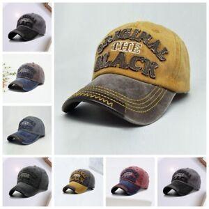 Herren-Damen-Baseball-Cap-Golf-Kappe-Muetze-Trucker-Hip-Hop-Sport-Hut-Basecap
