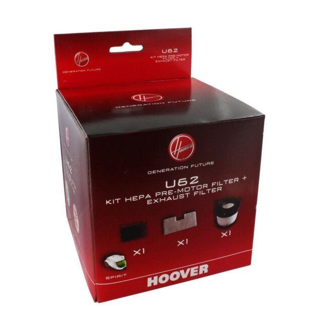 HOOVER U62 SMART SPIRIT FILTER KIT 35601182 GENUINE PART
