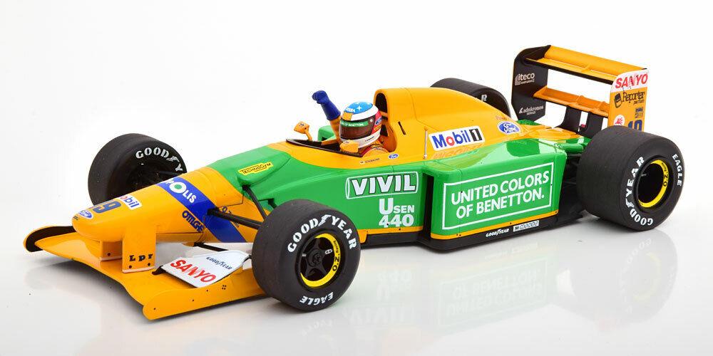 1 18 Minichamps Benetton Ford b192 1st GP VICTORY Spa Schumacher 1992