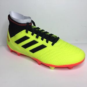 quality design 0993d 6a400 Image is loading Adidas-Predator-18-3-Firm-Ground-Soccer-Shoe-