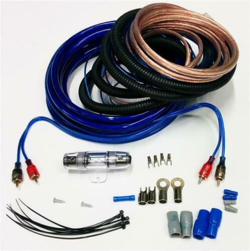 Amplifier Wiring Kit 1200 W Power Car Amp 4 Awg Gauge Sub Cable Fuse Holder