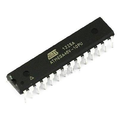 2PCS original DIP-28 ATMEGA48V-10PU ATMEGA48 8-bit Microcontroller