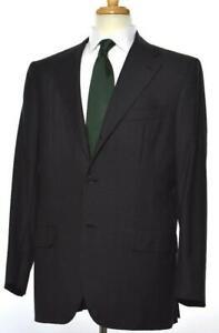 KITON-Cipa-1960-Mens-Herringbone-3-BTN-Wool-Slim-Suit-54-EU-44-R-US-NEW-6795