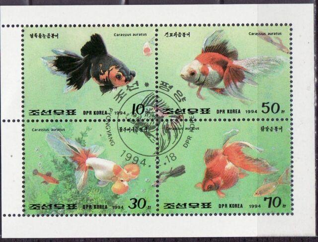 Korea 1994 - Vissen/Fish/Fische