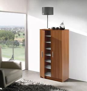 Mueble armario zapatero economico con 7 estantes color - Mueble zapatero barato ...
