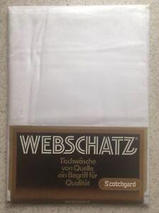 Tischwäsche von Webschatz weiß 130 x 220 cm - NEU mit OVP - - Aub, Deutschland - Tischwäsche von Webschatz weiß 130 x 220 cm - NEU mit OVP - - Aub, Deutschland