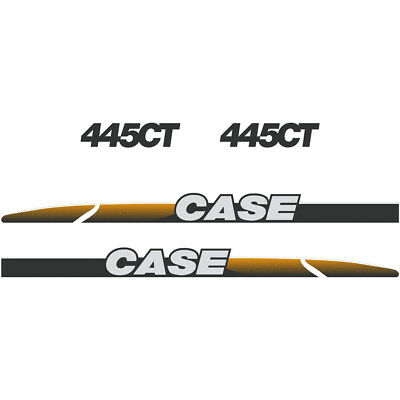 CASE 445CT Decals Stickers Skid loader Repro kit