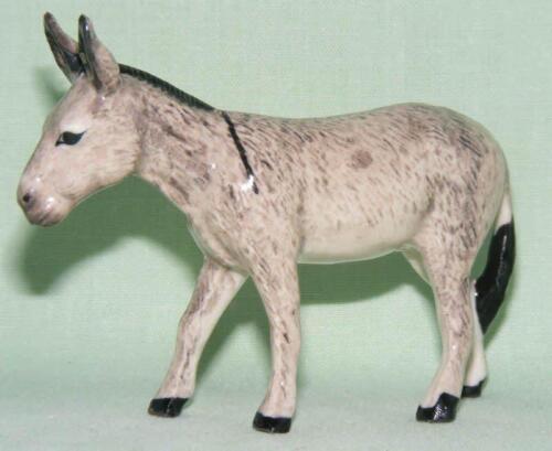 Klima Miniature Porcelain Animal Figure Donkey Standing Grey K966