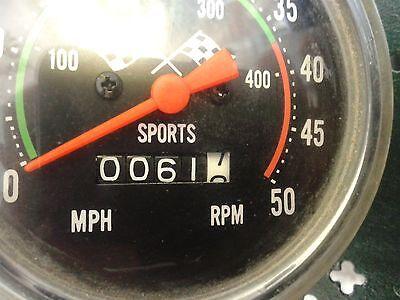 Humor Speedo Tachymeter Sports, Compteur Cyclomoteur Anglais En Mph English Motorcycle