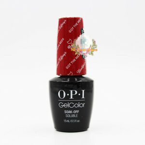 Brand New!! OPI Gel Color Soak Off Soluble Nail Polish *Pick Your Color*
