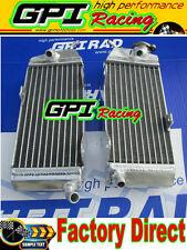 GPI aluminum radiator Yamaha YZ250 YZ 250 1986 1987 1988 1989 86 87 89