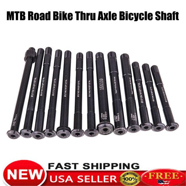 OG-EVKIN Road Disc Quick Release Front Rear Thru Axle 12x142 12x100 Bike Skewers
