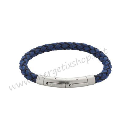 Energetix señora /& señores imán pulsera pulsera de cuero azul 3185 tallas S-M