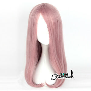 55cm-Anime-For-Little-Witch-Academia-Sucy-Mambavaran-Long-Pink-Wavy-Cosplay-Wig