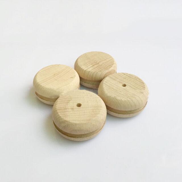 Wood Leathercraft Tool Circle Leather Edge Slicker Leather Burnisher Treatment Z