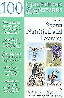 100 Questions and Answers about Sports Nutrition and Exercise-ExLibrary