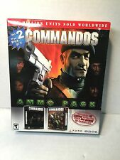 NEW VINTAGE Commandos: Beyond the Call of Duty PC Computer CD Video Game 2000