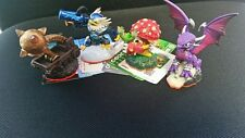 Skylanders Giants - 4 Figuren (Jet Vac, Shroomboom, Cynder, Catapult) - Neu