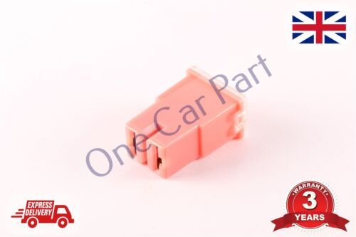 PAL JAPANESE TYPE FEMALE SLOW BLOW FUSE PAL TYPE 30A Amp Pink