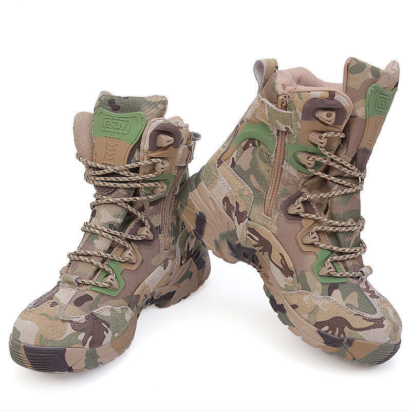 US Military Army Assault Tactical Combat Boots