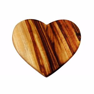 Image Is Loading Beautiful Handcrafted Love Heart Shaped Chopping Board Camphor