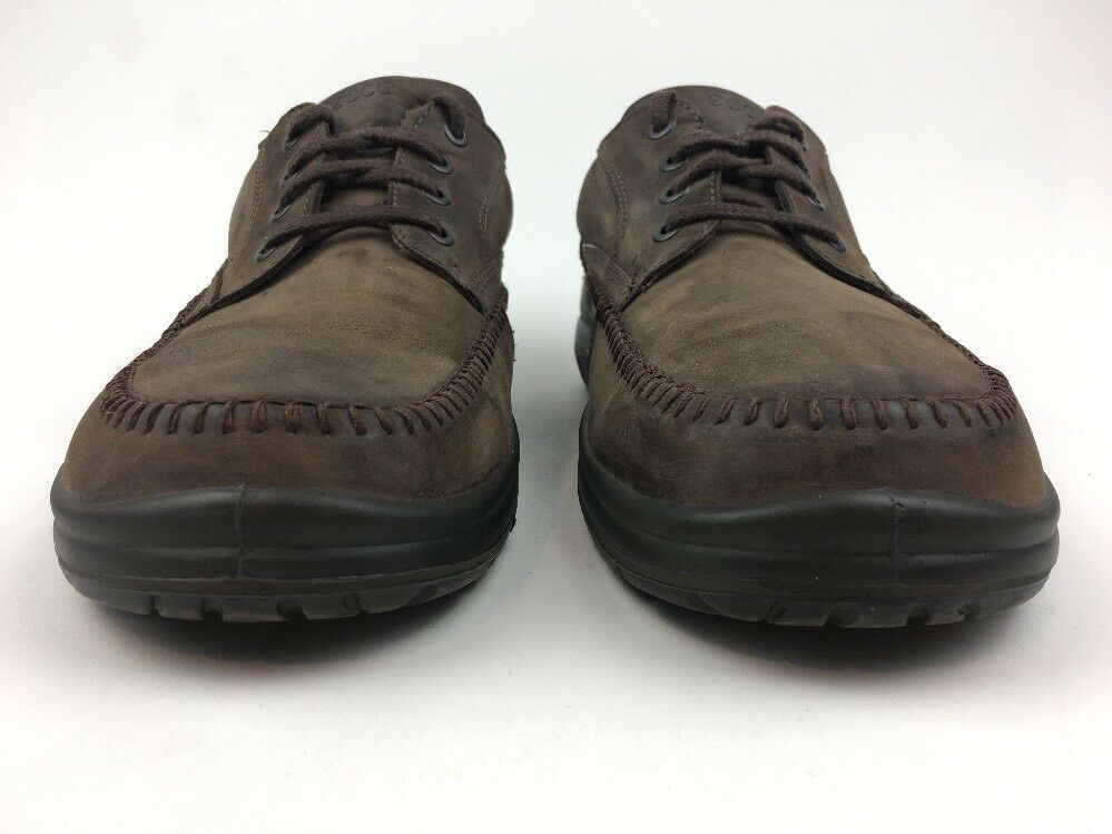 ECCO Uomo SIZE SIZE SIZE EUR 47 Brown Vegetable Tanned Pelle Walking Shoes 070 f3b6f2