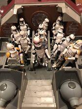 Star Wars 3.75 Republic AT-TE Tank Vehicle Clone Trooper Lot