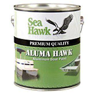 Jon Boat Tan Topcoat Paint Sea Hawk AH7050QT Aluma Hawk AH7000 1 qt