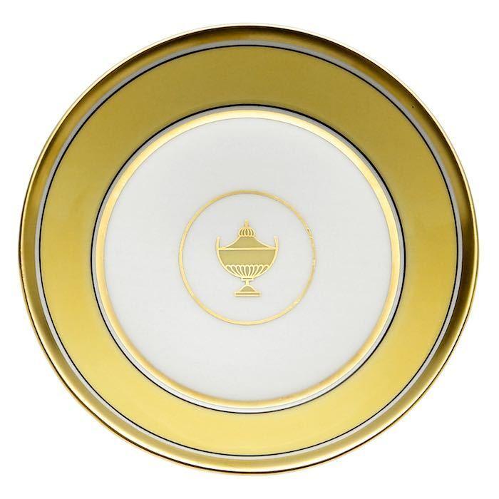 Contessa Citrino, Piattino 13,5 cm, Porcellana, Richard Ginori
