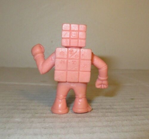 "80/'s M.U.S.C.L.E Men Kinnikuman Flesh Color 2/"" Cubeman Figure #024 Mattel"