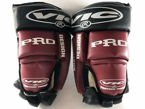 New-Vic-350-Pro-Anatomic-Protech-Thumb-Hockey-Gloves-13-In-AZ-Coyotes-Colors