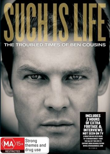 1 of 1 - Such Is Life - The Troubled Times Of Ben Cousins (DVD, 2010)