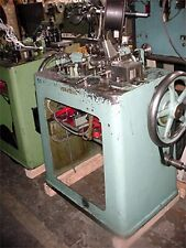 Theodore Bechtold Large Curb Amp Double Curb Chain Making Machine