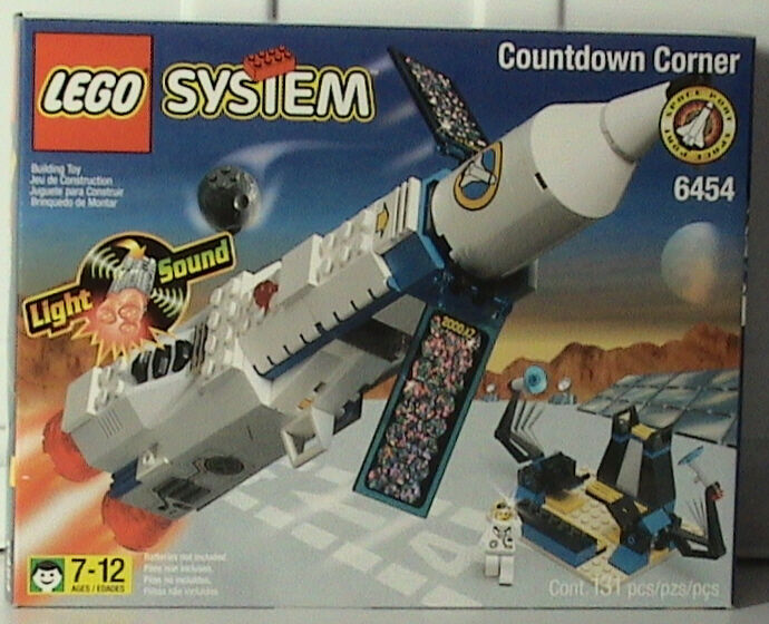 Lego Town 6454 Countdown Corner NEW SEALED