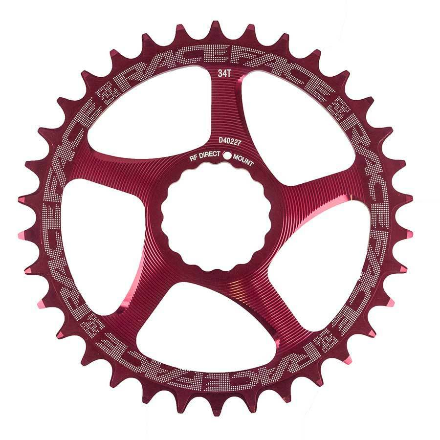 Race Face Cinch Direct Mount Narrow-Wide 34T Red 10s 11s Chainrings