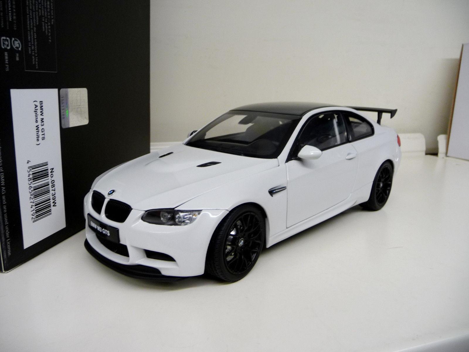 1:18 1:18 1:18 Kyosho BMW m3 GTS coupé e92 Blanc White Neuf newneu New 9edfe6